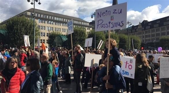 مظاهرات ضد العنصرية في ألمانيا (أرشيف)