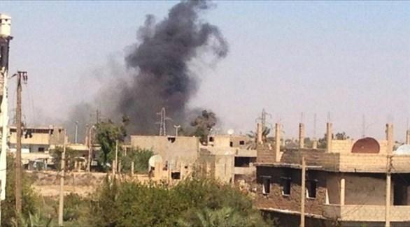 انفجارات عنيفة في دير الزور (أرشيف)