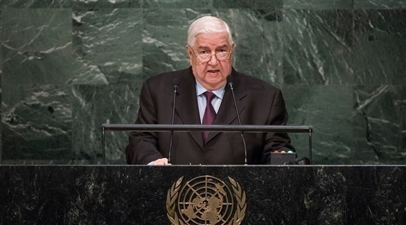 المعلم متحدثاً في الجمعية العامة (الأمم المتحدة)
