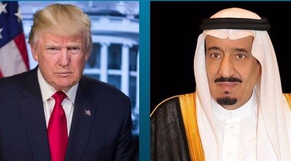 الملك سلمان ودونالد ترامب (واس)