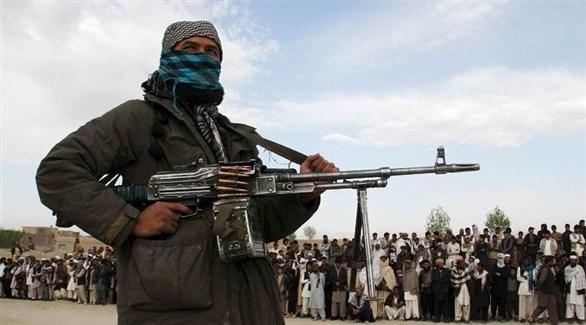 مسلح من طالبان الأفغانية الإرهابية (أرشيف)