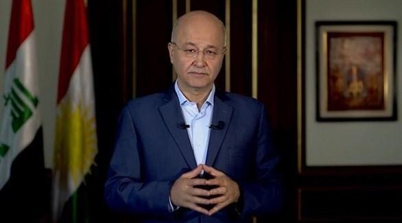 مرشح حزب الاتحاد الوطني الكردستاني للرئاسة العراقية برهم صالح (أرشيف)