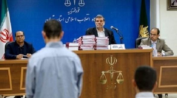 محكمة ثورية في إيران تحاكم متهماً (أرشيف)