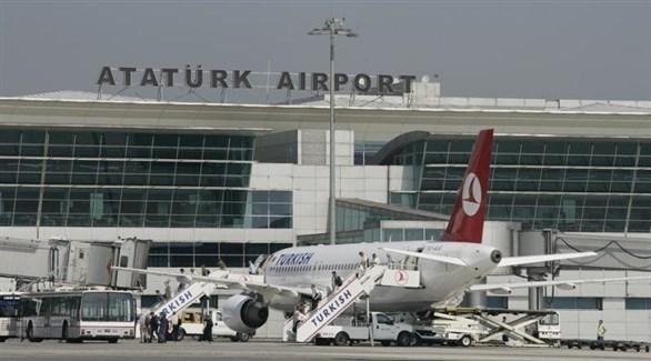 مطارات أتاتورك التركي (أرشيف)