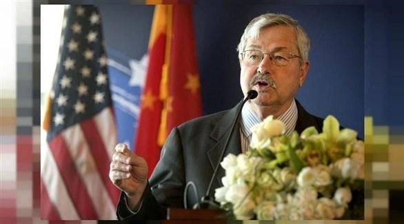 السفير الأمريكي لدى الصين، تيري برانستاد (أرشيف)
