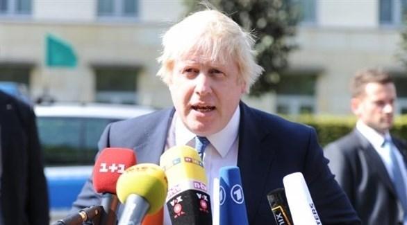 وزير الخارجية البريطاني السابق، بوريس جونسون (أرشيف)