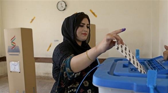 عراقية من كردستان تدلي بصوتها (اي بي ايه)