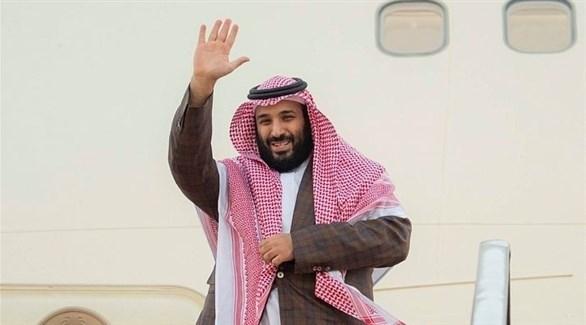محمد بن سلمان مغادراً السعودية (واس)