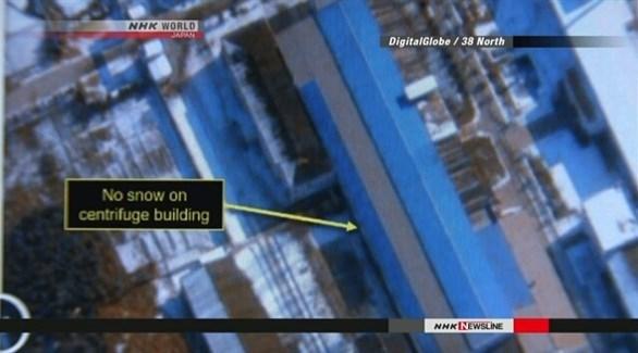 صورة قمر اصطناعي لمنشأة نيونغبيون (إن إتش كيه)