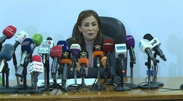 وزيرة الدولة لشؤون الإعلام المتحدث باسم الحكومة الأردنية جمانة غنيمات (أرشيف)