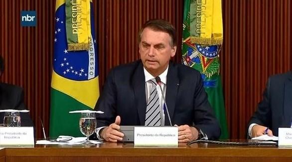 الرئيس البرازيلي جاير بولسونارو  (أرشيف)