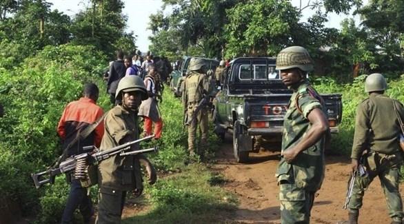 جنود من الجيش النظامي في الكونغو (أرشيف)