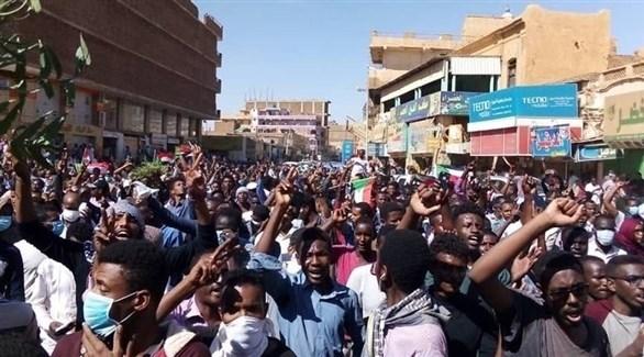 تظاهرات في أم درمان السودانية (أرشيف)