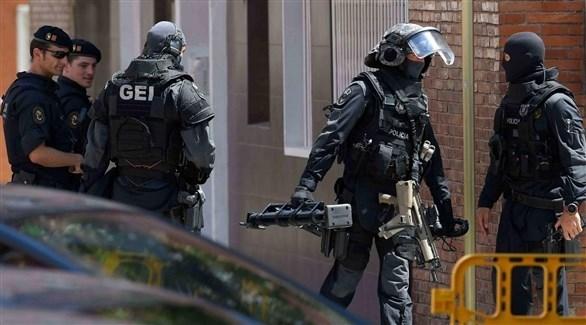 عناصر من الأمن الأسباني (أرشيف)