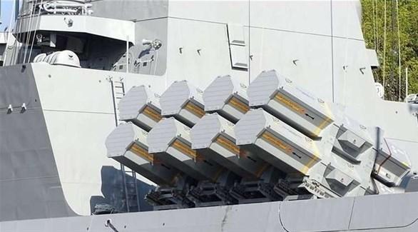 صواريخ الفرقاطة الألمانية (أرشيف)