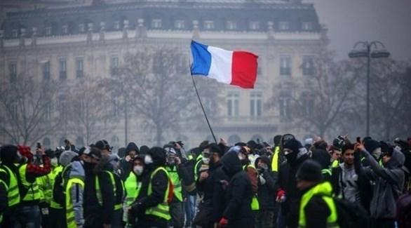 حركة السترات الصفراء في فرنسا (أرشيف)