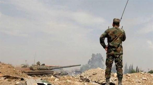 مدرعات عسكرية تابعة للجيش السوري (أرشيف)