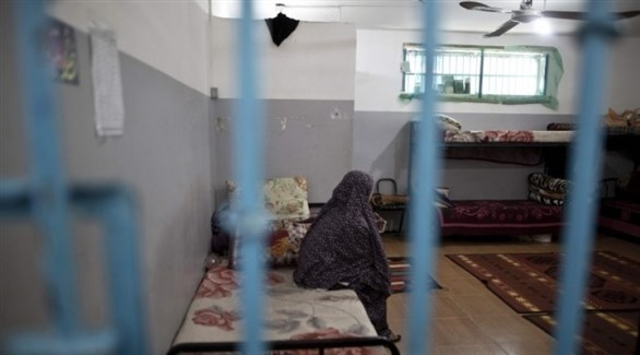 أسيرات فلسطينيات في سجن الدامون (أرشيف)
