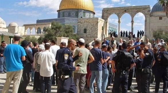 اقتحام المستوطنين للمسجد الأقصى (أرشيف)