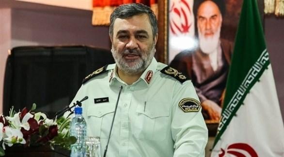 قائد قوات الشرطة في إيران حسین اشتري (أرشيف)
