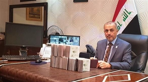 القنصل العراقي العام في مدينة مشهد (أرشيف)