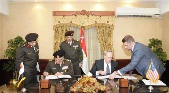 خلال التوقيع (السفارة الأمريكية)