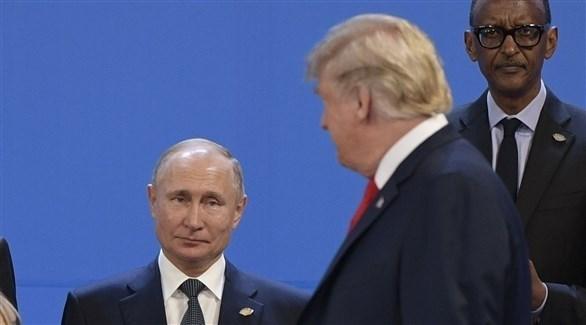 الرئيس الروسي ونظيره الأمريكي (أ ف ب)