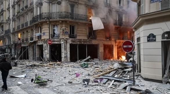 انفجار في باريس (تويتر)