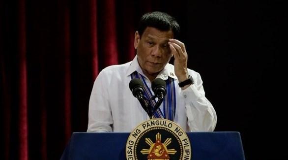 الرئيس الفلبيني رودريغو دوتيرتي (إ ب أ)