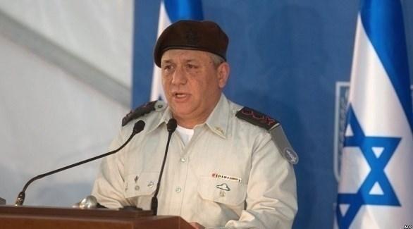 رئيس الأركان الإسرائيلي الجنرال غادي أيزنكوت (إرشيف)