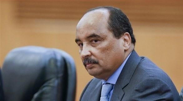 الرئيس الموريتاني محمد ولد عبدالعزيز (أرشيف)