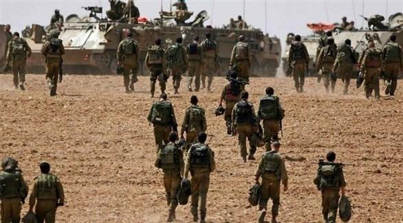 عناصر من القوات الإسرائيلية على الحدود مع لبنان (أرشيف)