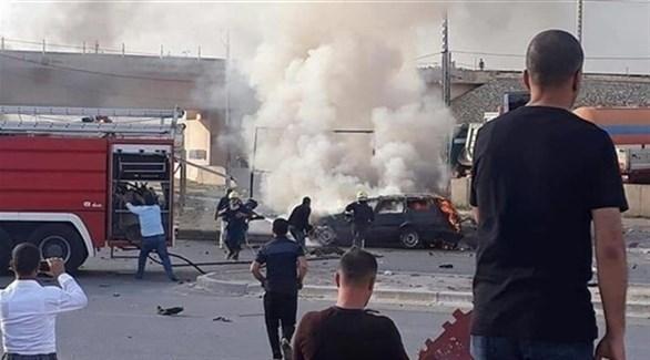 انفجار سيارة مفخخة في العراق (رويترز)