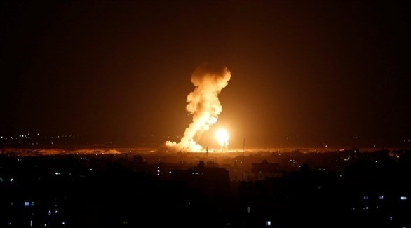 قصف إسرائيلي على غزة (أرشيف)