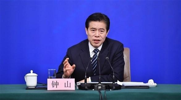 وزير التجارة الصيني تشونغ تشان (شينخوا)