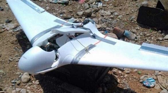 حطام طائرة دون طيار في صعدة (نيوزيمن)