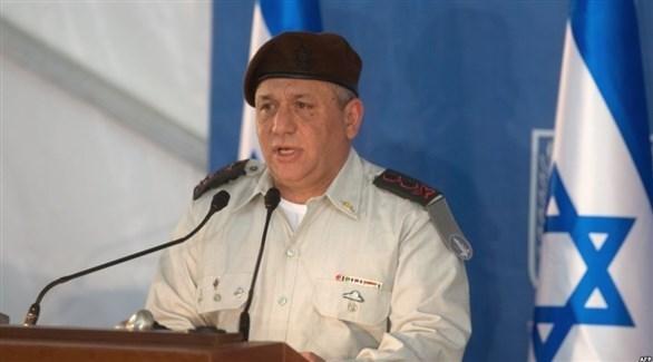 رئيس هيئة أركان الجيش الإسرائيلي المنتهية ولايته غادي أيزنكوت (أرشيف)