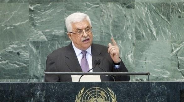 الرئيس الفلسطيني محمود عباس في الأمم المتحدة (أ ف ب)