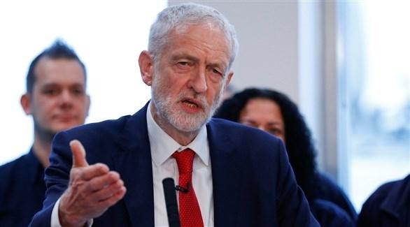 زعيم المعارضة العمالية في بريطانيا جيريمي كوربن (أرشيف)