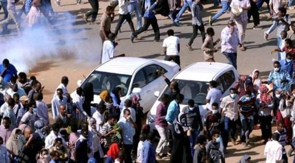 مظاهرات ضد نظام البشير في السودان (أرشيف)