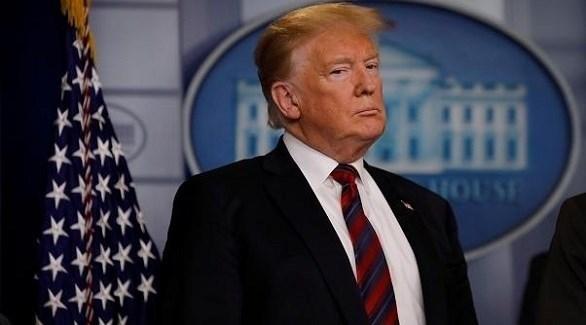 ٍالرئيس الأمريكي دونالد ترامب