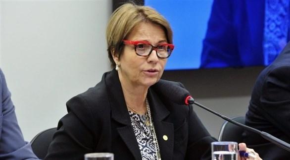 وزيرة الزراعة البرازيلية تيريزا كريستينا دياز (أرشيف)