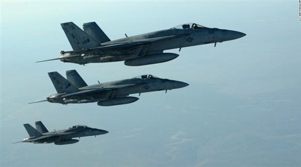 طائرات حربية تابعة للتحالف الدولي ضد داعش (أرشيف)
