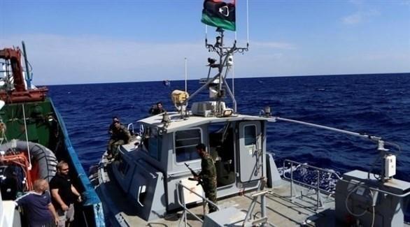 دوريات من خفر السواحل الليبية (أرشيف)