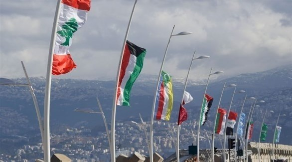 أعلام الدول العربية المشاركة في القمة (أرشيف)