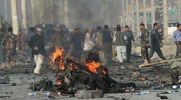تفجير سابق في أفغانستان (أرشيف)