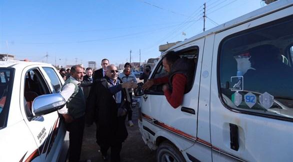رئيس الوزراء العراقي عادل عبدالمهدي يزور البصرة (المكتب الاعلامي لرئيس الوزراء العراقي)