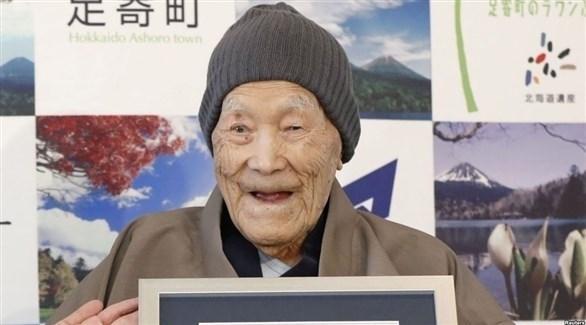 أكبر معمر في العالم  الياباني ماسازو نوناكا الذي توفي اليوم (أرشيف)