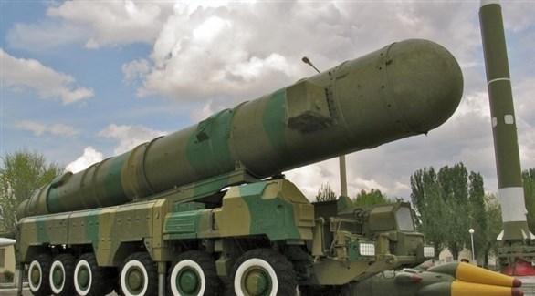 صاروخ باليستي نووي روسي (أرشيف)
