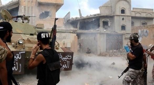مسلحون في طرابلس (أرشيف)